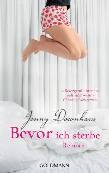 Bevor ich sterbe von Jenny Downham