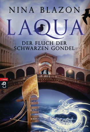 Laqua - Der Fluch der schwarzen Gondel von Nina Blazon